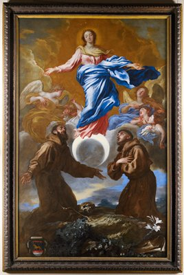'Immaculata' with Anthony of Padua and Francis of Assisi.
