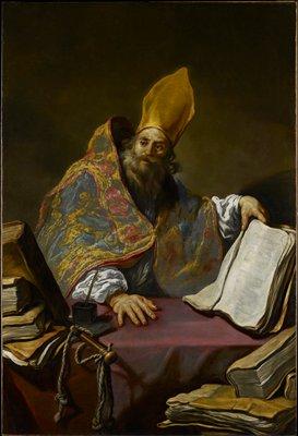 Saint Ambrose Father of the Catholic Church