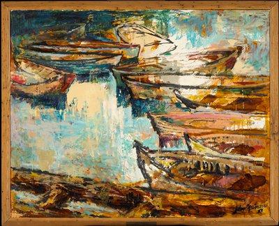 Genre. Marine abstraction.