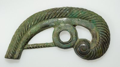 one of a pair of bridle pieces
