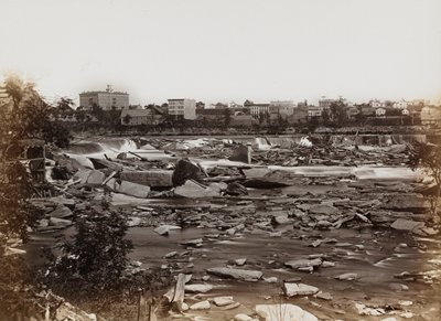 24 albumen photographs, showing views of the cities and forts, 1857-70, from the original Upton negatives