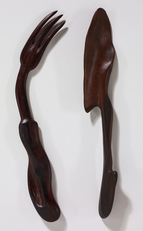biomorphic shapes; curved design; curved tines