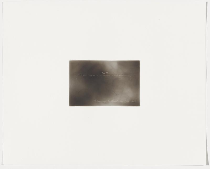 """smoky grey background; wavy white line with """"Fig 27"""" above it; """"o"""" beneath line at left end, """"p"""" beneath line at right end"""