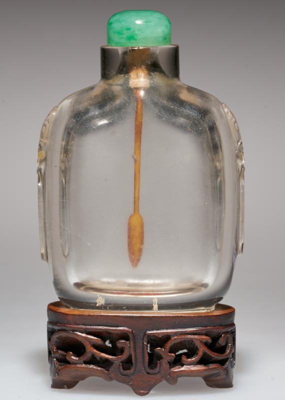 plian crystal with jade top