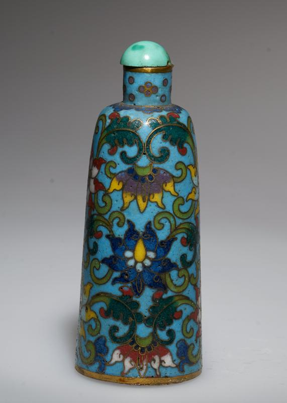 cloisonne top (27.1.79 and 27.1.80 are a pair)