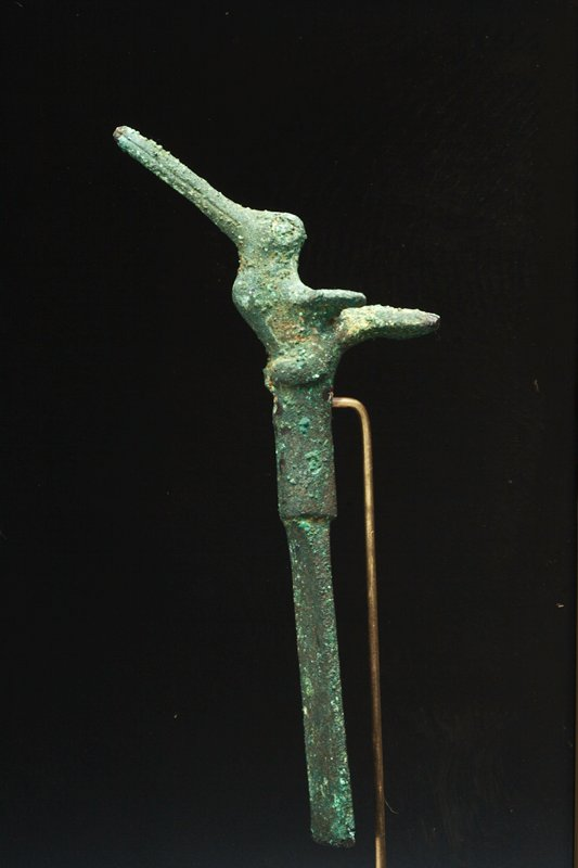 Tumi with Hummingbird, copper. Arms and Armor-Edged Weapon