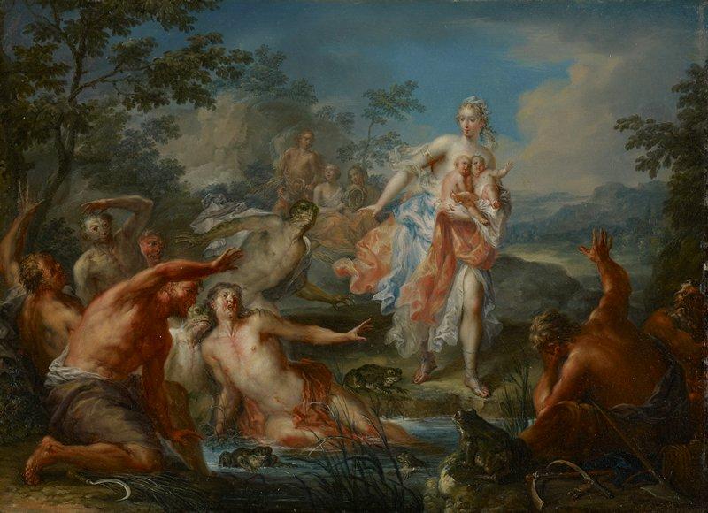 Mythology. Rococo.
