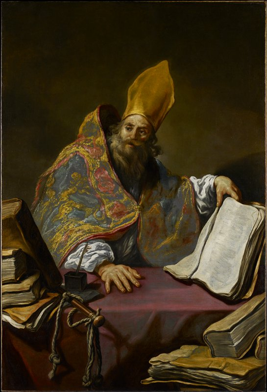Saint Ambrose Father of the Catholic Church