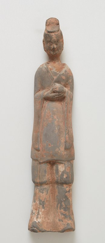 Attendant, standing figure, small