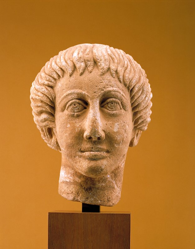 fine example of late Roman/early Byzantine provincial portraiture