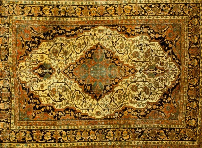 Rug, Antique Sarouk