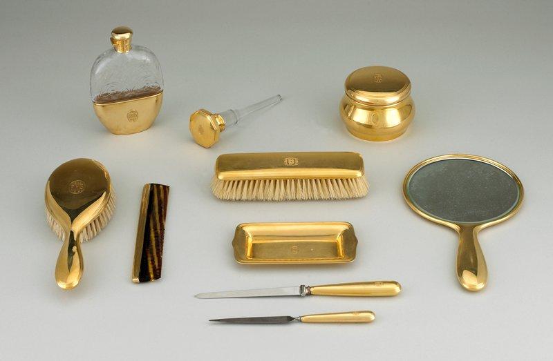18 carat gold small tray