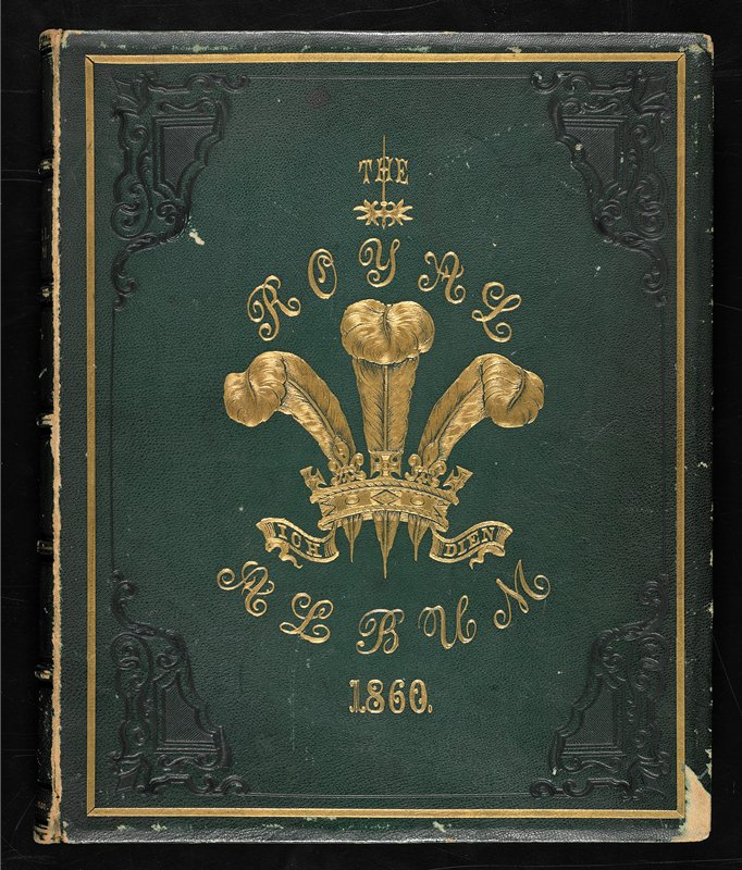 small folio, original green morocco, stamped in blind and in gilt, with the royal crest on front cover, gilt spine, a.e.g.; litho title page, dedication and presentation leaf, and 11 albumen portraits each within a litho border, and litho copyright information beneath and the litho signature of the sitter.Portraits Prince of Wales; Lyons; Newcastle; St. Germans; Robert Bruel(?); Henry Aeland; J. Teesdale(?); G. Neprey; Gardiner Engleheart; Charles G.L. Eliot; Huchir J. Bradly(?)