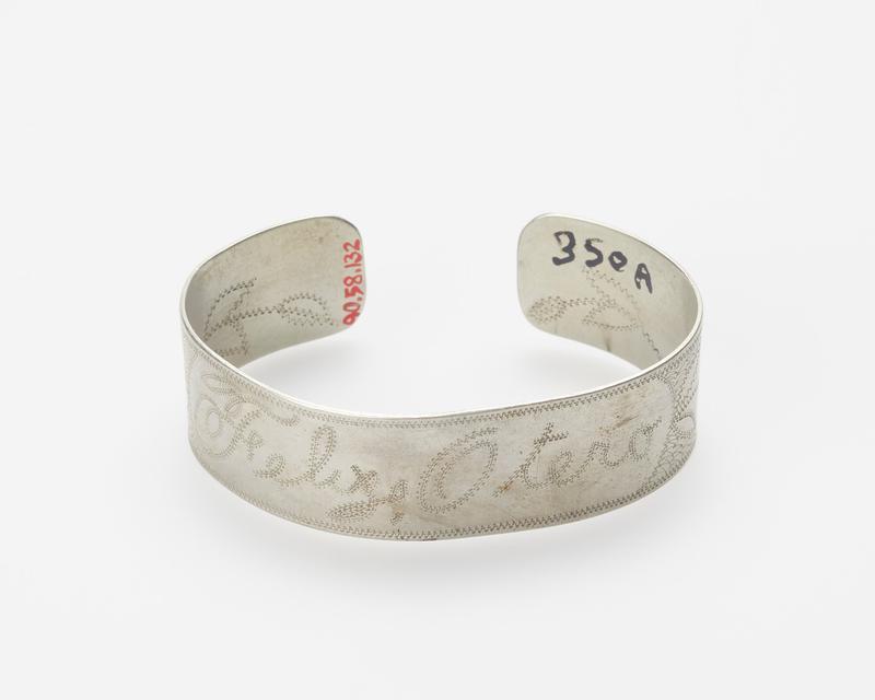 engraved nickel silver 'Felix Otero' (outside), maker 'Tarora Sarrasino' (inside) J.#331, Cat.none