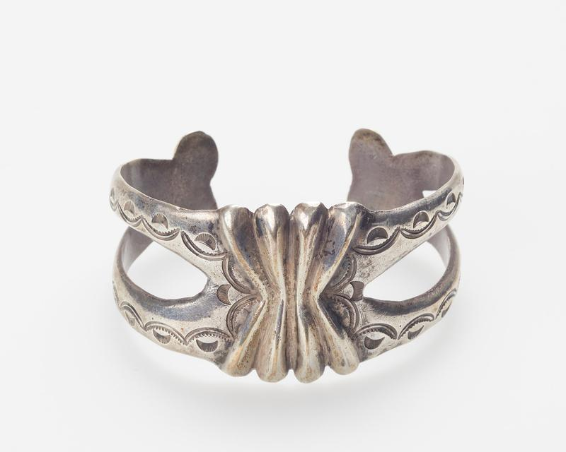 Cast openwork band and Stamped decoration cat.317, J#233