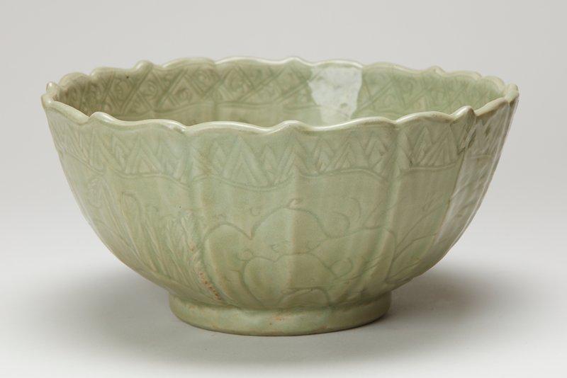celadon bowl, ceramic, Ming