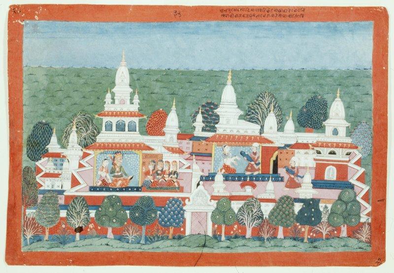 Illustration from a Bhagavata Purana series