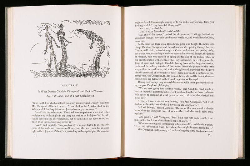 First US edition; 121 pages; bound in cloth boards with calf spine. An English translation of the German original of 1920. There are two additional unbound suites of illustrations stored in a sleeve: each sheet is 5 x 7 in.; 26 sheets are yellow and 26 sheets are white. Housed in light blue paper over boards slip case.