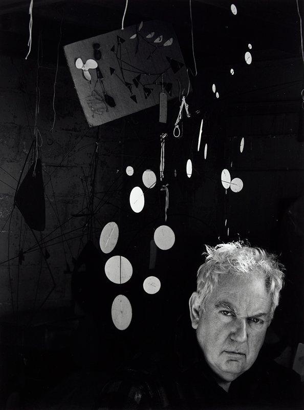 portrait of Alexander Calder