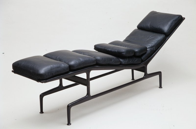 Chaise, Charles Eames; Designer: Ray Eames; Manufacturer: Herman ...