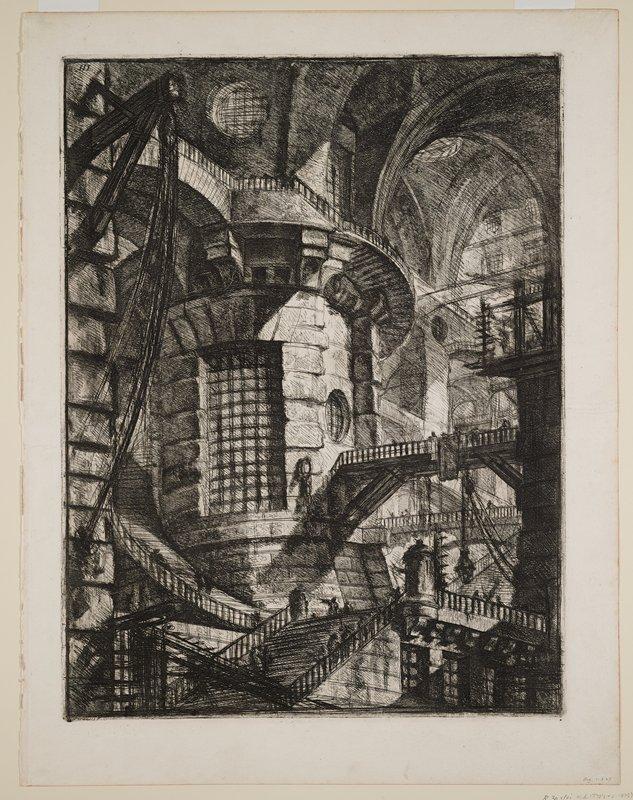 Plate 3 from Carceri d'Invenzione