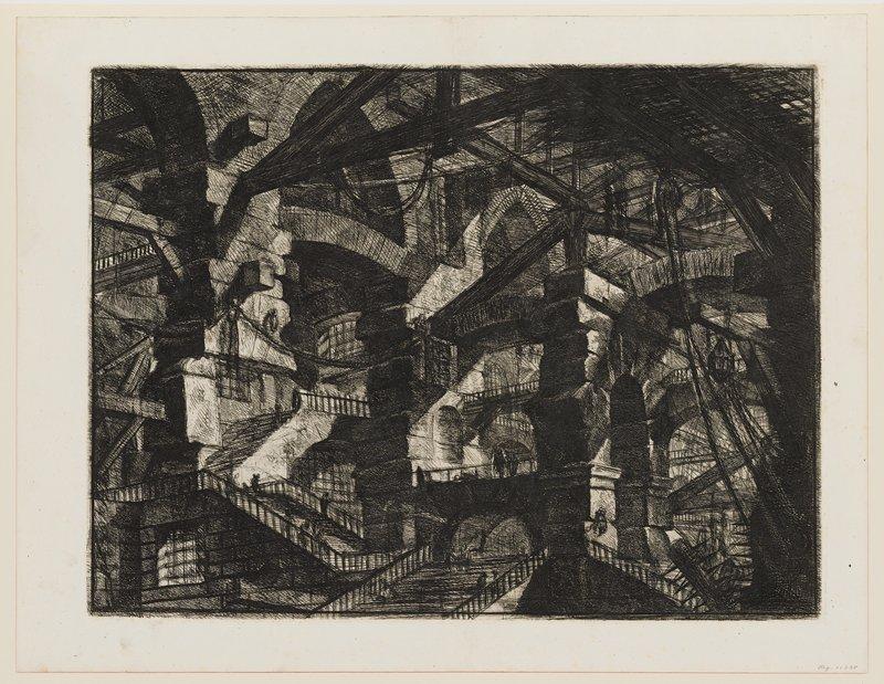 Plate 14 from Carceri d'Invenzione