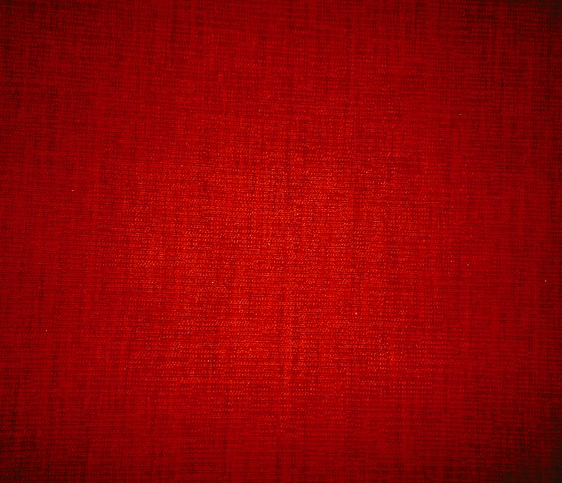 Wool and cotton frieze. Weft pile. Wool and cotton frieze. Weft pile. (Red)